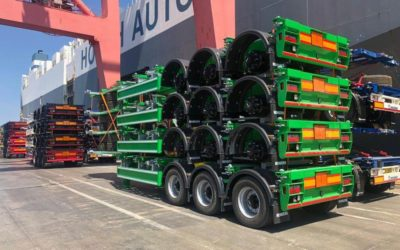 Extensive range of container chassis